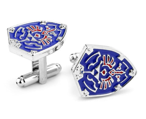 Zelda Triforce Shield Cufflinks