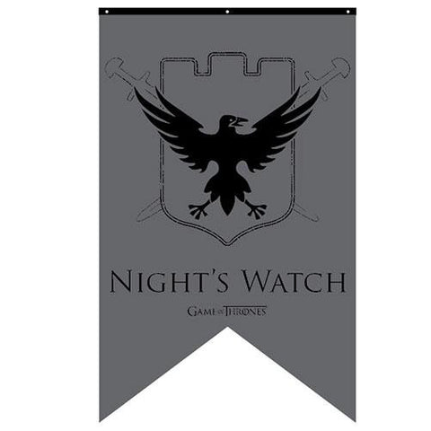 Game of Thrones Night's Watch Banner
