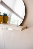 Hanging Mirror Shelf Kit