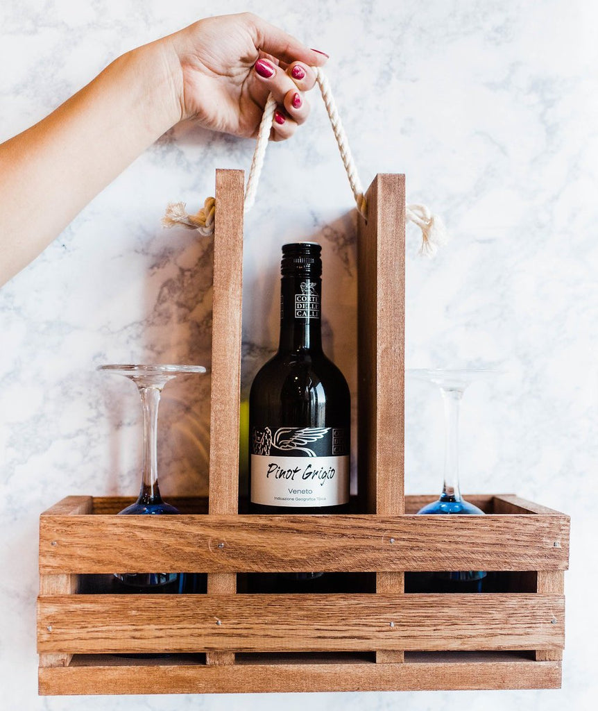 Wine Caddy Kit Adults And Crafts