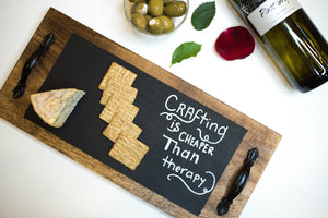 Wine & Cheese Chalkboard Kit