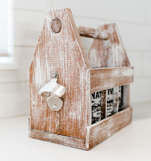Weathered Wood Caddy