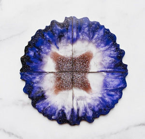 Agate Resin Coasters Kit