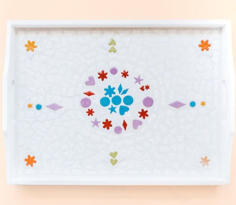 Mosaic Serving Tray Kit