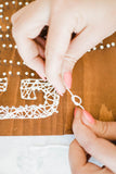 String Art Wood Sign Kit