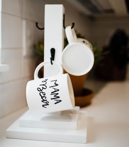 Mug Stand and Customizable Mugs Kit