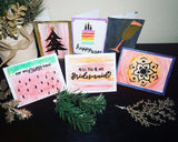 Homemade Embossing Card Making Kit