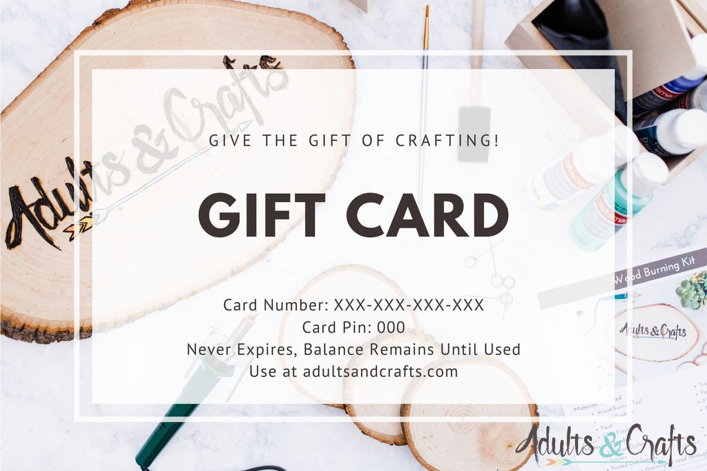 Adults & Crafts Gift Card