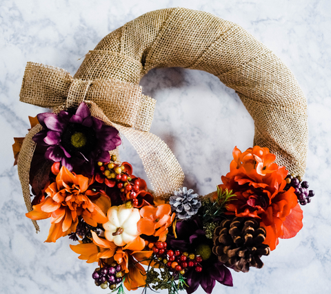 Autumn Wreath DIY Kit