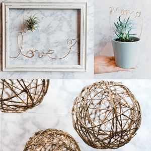 Wire & Twine Craft Kit