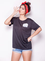 Money In Your Pocket Tee by Manic Vintage