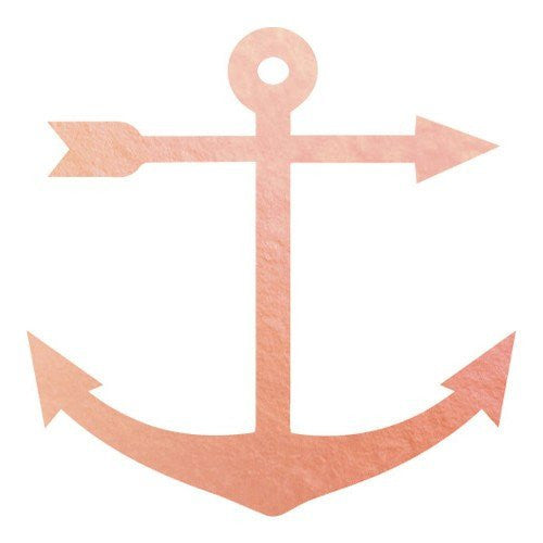 KromeBody: Anchor Rose Gold 2x2""