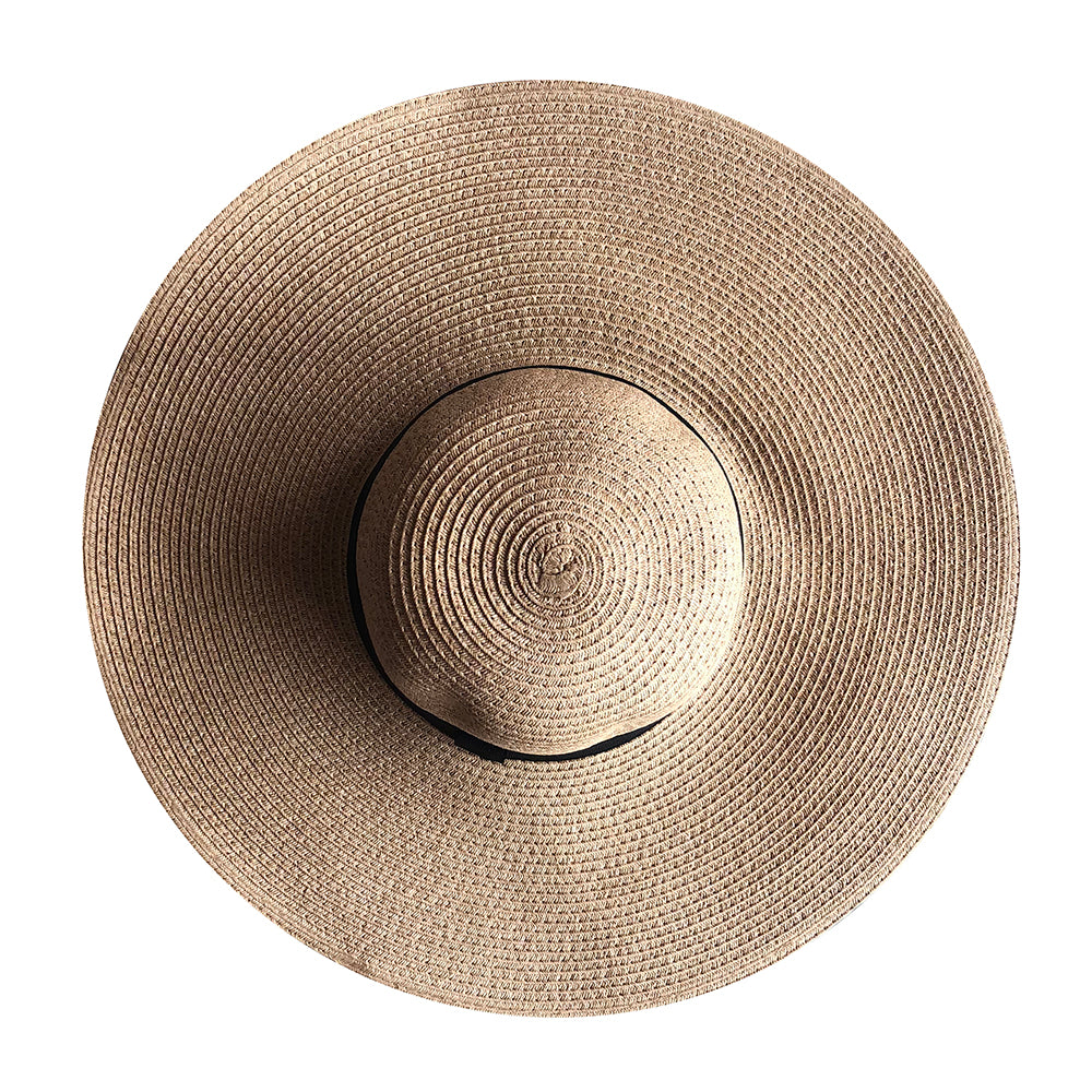 Floppy Sun Hat - Brown