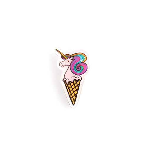 Unicorn Ice Cream Pin