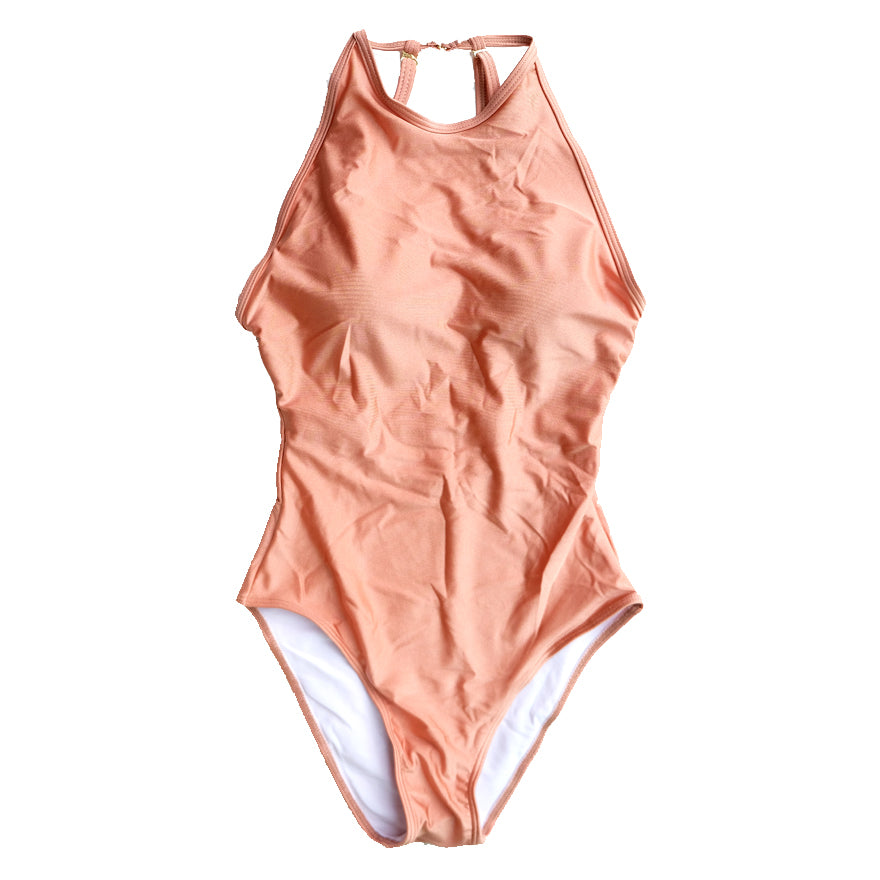 Baesic Halter Creamsicle