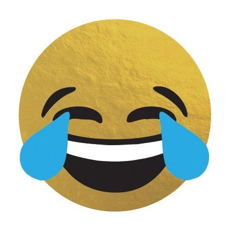 KromeBody: Laughing Tears Emoji 2x2""