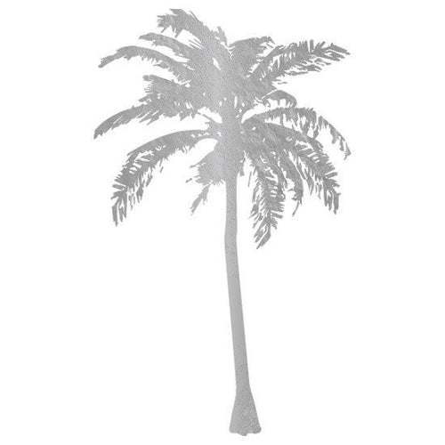 KromeBody: Palm Tree Silver 2x2""