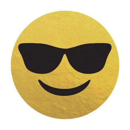 KromeBody: Sunglasses Emoji 2x2""