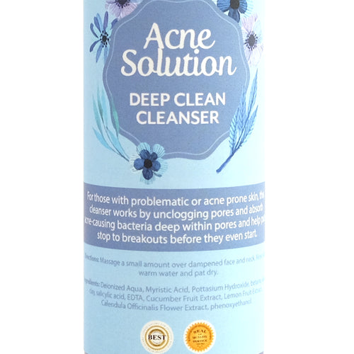 Acne Solution Deep Clean cleanser