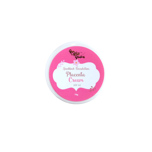 Sunblock Foundation Placenta Cream SPF45 10g