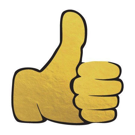 KromeBody: Thumbs Up Emoji 2x2""
