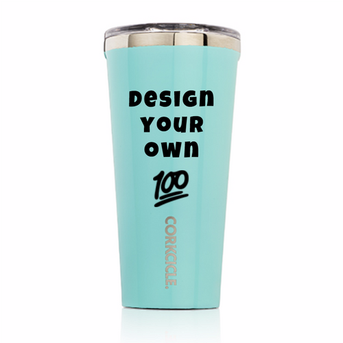 CUSTOM CORKCICLE 16oz TUMBLER