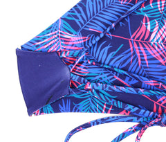 Boracay Top Reversible Happy Palms x Indigo