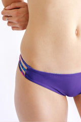 Boracay Bottom Reversible Happy Palms x Indigo
