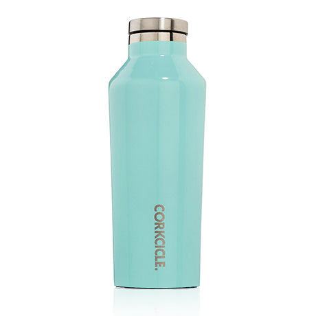 Corkcicle 9oz Canteen Turquoise