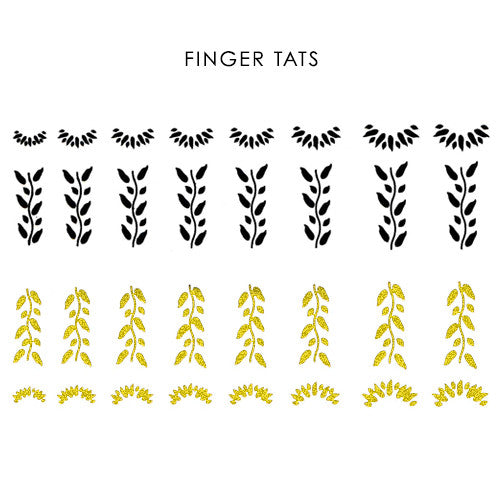 Finger Tats: Leaf