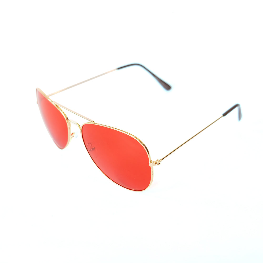 Aviator Color Therapy Red x Gold