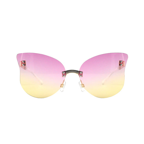 Butterfly Ombre Pink x Yellow