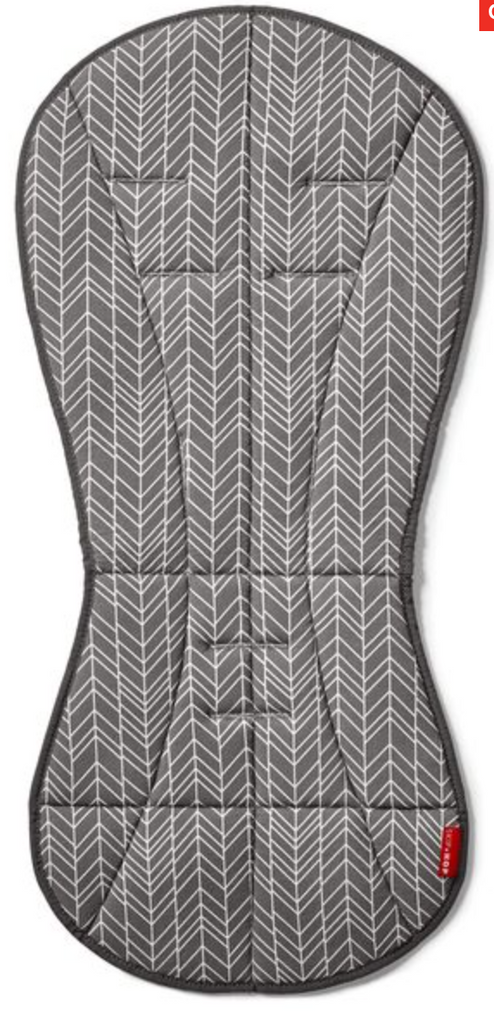 Skip Hop Cool Touch Stroller Liner - Grey Feather