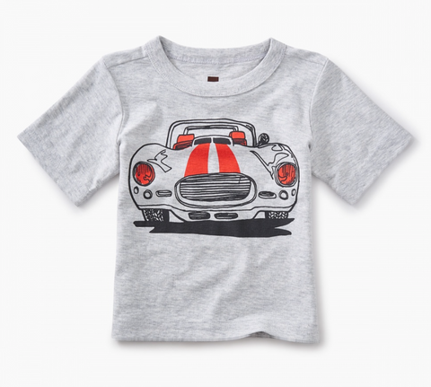 Tea Collection Sports Car Graphic Baby Tee