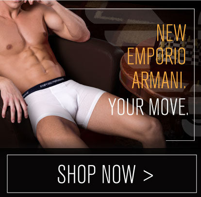 New Emporio Armani! Your Move.