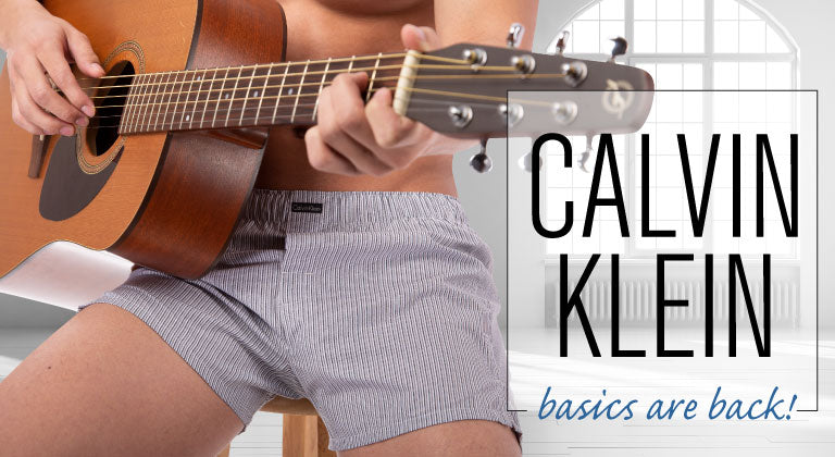Calvin Klein Basics Are Back!