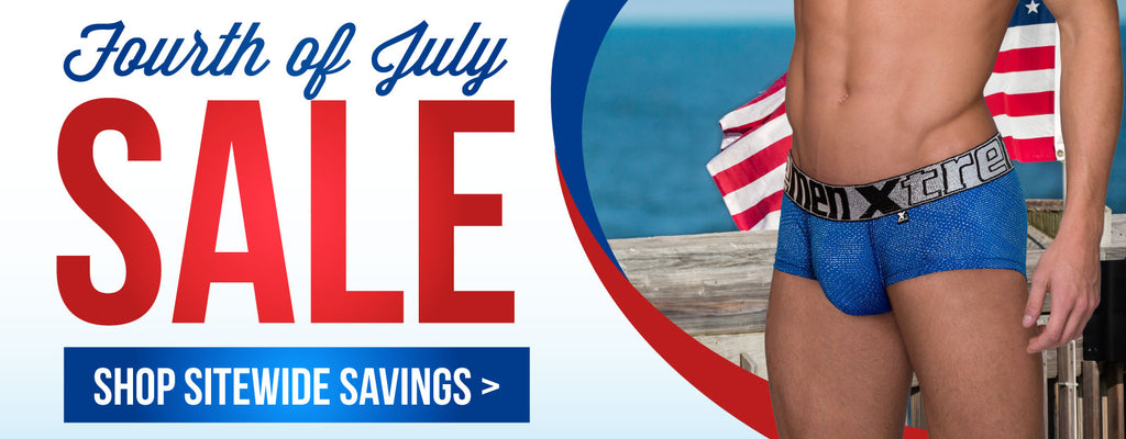 Fourth of July Sale. Shop Sitewide Savings >