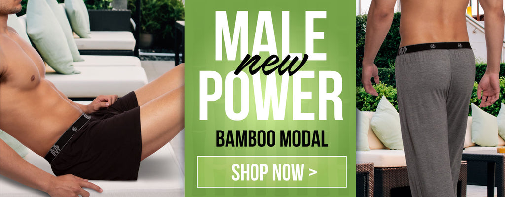 New Male Power Bamboo Modal Loungewear