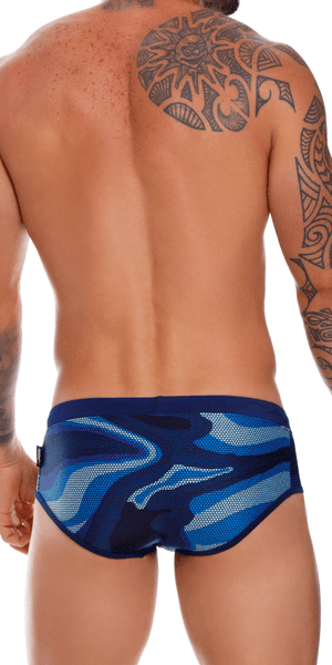 Jor 1019 Action Swim Briefs Blue