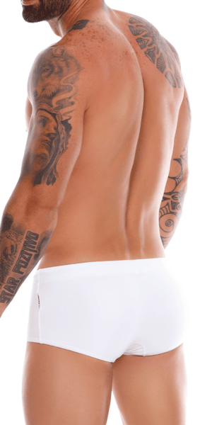 Jor 1020 Capri Swim Trunks  White