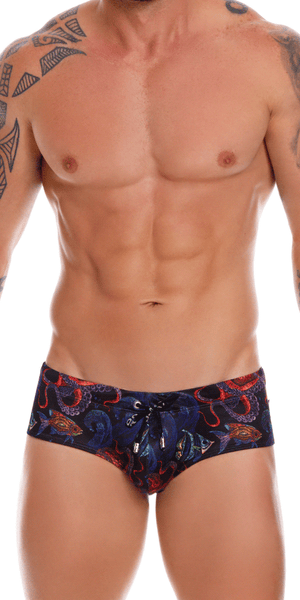 Jor 1033 Octupus Swim Briefs Printed