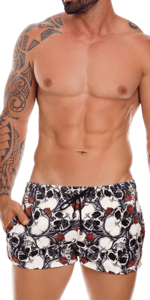 Jor 1040 Wasabi Swim Trunks Printed