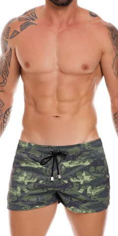 Jor 1052 Shark Swim Trunks Printed