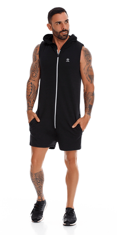Jor 1059 Adventure Romper Black