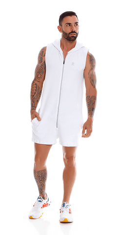 Jor 1059 Adventure Romper White
