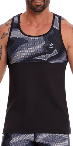 Jor 1064 Action Tank Top Black