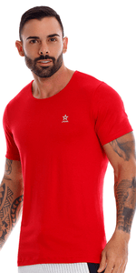 Jor 1069 Cross Tank Top Red