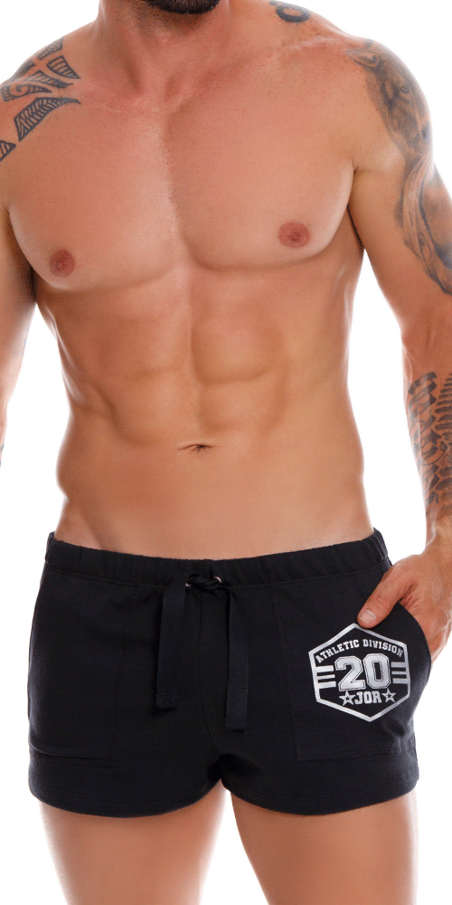 Jor 1070 Enzo Athletic Shorts Black