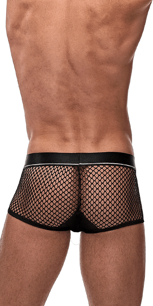 Male Power 120-260 Cockpit C-ring Trunks Black