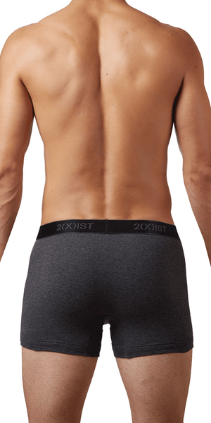 2(x)ist 3102030403 3pk Boxer Briefs black-gray-charcoal